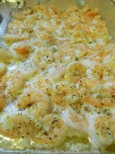 Italian Shrimp Bake: serve w crusty bread to soak up the lemon butter sauce or serve over pasta.