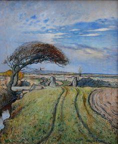 fleurdulys:  Spring in Holland - Nils Kreuger 1894