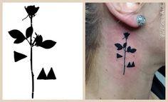 Depeche Mode tattoo Violator