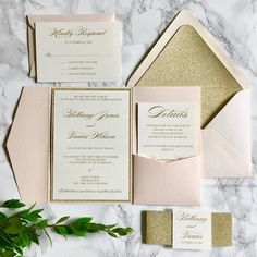 Invitation Style: Pocket This listing is for a preprinted sample only. Click here to get started on your order!