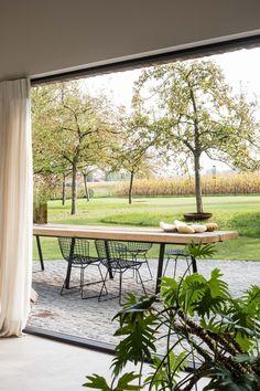 burO Groen Indoor Outdoor Living, Outdoor Spaces, Outdoor Decor, Outdoor Furniture Sets, Garden Furniture, Barn Renovation, Outside Living, Garden Spaces, Home And Living