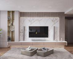Tv Cabinet Wall Design, Tv Wall Design, Apartment Interior, Home Living Room, Interior Design Living Room, Living Room Wall Units, Living Room Tv Unit Designs, Modern Tv Room, Home Room Design