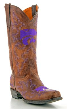 Mens K-State boots