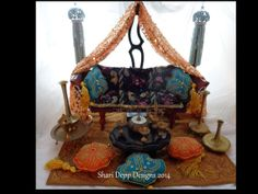 Lrg Bollywood Doll Furniture set for 1218 inch by ShariDeppDesigns, $299.00