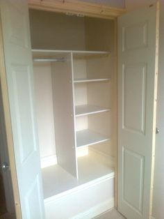 Wardrobe built over stair well bulkhead new house ideas for Stair box in bedroom ideas
