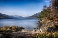 Loch Lomond from the edge of those Bonnie Baks