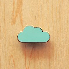 Image of Origami pin : Cloud, Umbrella