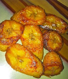 "Paleo Curls: Oven Baked ""Fried"" Plantains"