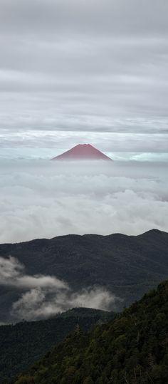 Mt. Fuji from Mt. Kokushigatake, Japan | Yuga Kurita 国師ケ岳からの富士山