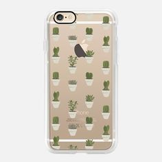 Casetify iPhone 7 Case and Other iPhone Covers - Cacti & Succulents by Crumpetsandcrabsticks AKA Vicky Webb | #Casetify