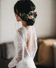 Lace Bohemian Wedding Dresses French Lace Long Sleeve Boho Chic Dress Open Back . - Lace Bohemian Wedding Dresses French Lace Long Sleeve Boho Chic Dress Open Back Bridal Gowns vestido de noiva 2017 Source by - Bohemian Wedding Dresses, Boho Wedding, Bridal Dresses, Wedding Gowns, Wedding Ideas, Dream Wedding, Trendy Wedding, Wedding Bun, Dresses Dresses