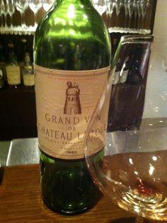 Chateau Latoure1985 photo-wata  #wine  https://www.facebook.com/photo.php?fbid=379518498791539=a.379518458791543.88737.100002001754992=1
