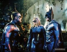 Batman And Robin - Publicity still of George Clooney, Alicia Silverstone & Chris O'Donnell