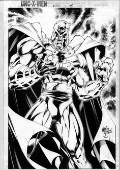 Magneto//Joe Madureira/M/ Comic Art Community GALLERY OF COMIC ART