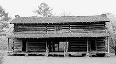 Chief William McIntosh Jr,'s home in Whitesburg, Georgia