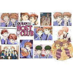 Hikaru and Kaoru Hitachiin...Oh I love these twins.. From Ouran Highschool Host Club :3