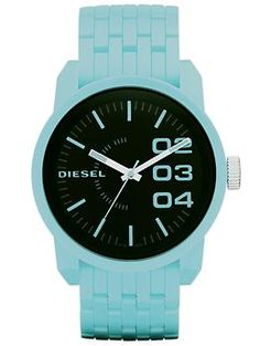 Color Domination by Diesel - i usually do not like a colored watch but something about this one is just gorg! xo