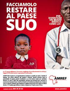 AMREF | African Medical and Research Foundation Facciamolo Restare al Paese Suo