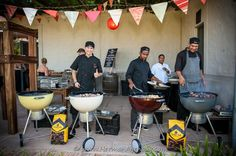 Braai snacks as a pre-snacks and starter combined - GREAT for summer weddings!