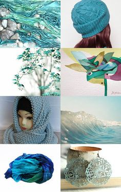 turquoise by Galina on Etsy--Pinned with TreasuryPin.com