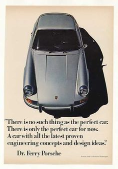 Porsche No Such Thing as the Perfect Car (1971)
