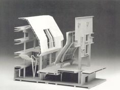 munster library by bolles & wilson Architecture Model Making, Architecture Drawings, Model Building, Architecture Details, Interior Architecture, Architectural Section, Architectural Models, 3d Modelle, Arch Model