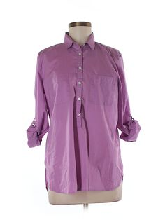 Check it out—Ann Taylor LOFT Long Sleeve Blouse for $18.49 at thredUP!