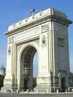 Arcul de triumf Bucureşti România