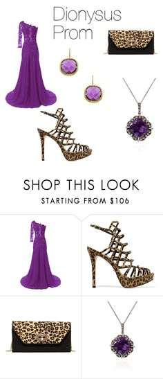 """Percy Jackson: Dionysus prom"" by peytondodson on Polyvore featuring Schutz, SUSU, LE VIAN and Seraphina"