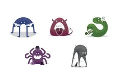 Icons by Joseph DeDalto Cute Monsters, Joseph, Icons, York, Ikon, Symbols