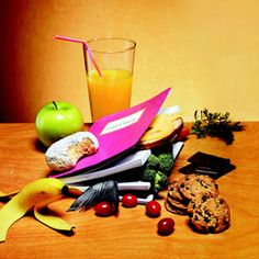 A food diary of everything you eat is a great way to see what you eat each day as a way to cut back on unhealthy foods.
