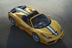 DEPO 2014 - 11 - FERRARI 458 SPECIALE A El nuevo Ferrari 458 Speciale A (A de Aperta) es una de las últimas joyas de la firma del Cavallino Rampante. Sólo se fabricarán 499 unidades del que será el Spider (descapotable) más potente en la historia de la marca italiana gracias a los 605 CV de su motor 4.5 V8.
