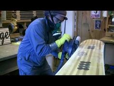 Shaper's Lodge-Montreal....how to make a snowboard