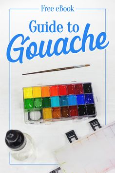 Learn about the most amazing medium, gouache! Click here to download the free Guide to Gouache.
