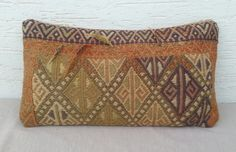 MODERN Bohemian Home Decor Turkish Kilim Pillow by pillowsstore, $54.00