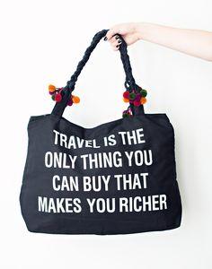 Travel Weekender Bag / Jac Vanek