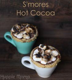 S'mores Hot Cocoa #TasteTheSeason #ad #cbias