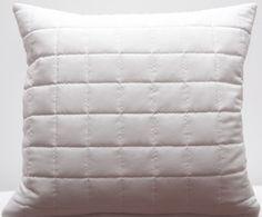Biela dekoračná obliečka na vankúš 40x40 Bed Pillows, Pillow Cases, Home, Pillows, Ad Home, Homes, Haus, Houses