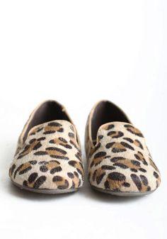 Leopard ballet flats :}