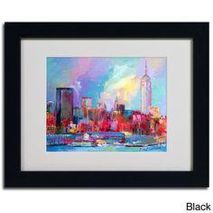 <li>Artist: Richard Wallich</li> <li>Title: 'Empire'</li> <li>Product type: Framed giclee print</li>