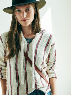 caravana montaecristo™ hoodie worn with the bon viviant tee + biltmore® & madewell straight-brim felt fedora. #denimmadewell
