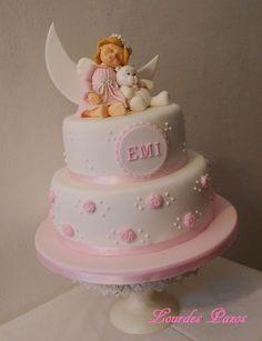 44 bonitas ideas de Bautismo de nena Baby Girl Cakes, Baby Shower Cakes For Boys, Ideas Bautismo, Teddy Bear Cupcakes, Welcome Baby Girls, Baptism Decorations, Bear Cakes, Cake Designs, Wedding Cakes
