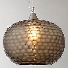 Buy John Lewis Ophira Glass Ceiling Light Online At Johnlewis