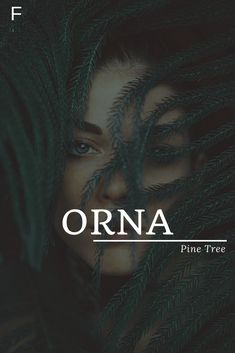 Orna meaning Pine Tree names girl country names girl elegant names girl pretty names girl rare names girl vintage baby names girl Female Character Names, Female Names, Baby Girl Names, Boy Names, Aesthetic Names, Strong Baby Names, Feminine Names, Traditional Names, Unisex Baby Names
