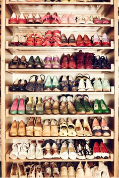 Peep ModCloth Founder Susan Koger's Awe-Inspiring Closet!