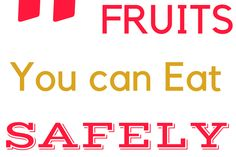 11 Fruits can you Eat Safely in a Ketogenic Diet - Fitness Bash