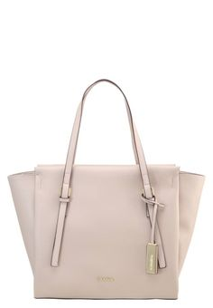 """M4RISSA - Handbag - grey. carrying handle:9.5 """" (Size One Size). Fastening:Zip. height:12.0 """" (Size One Size). Fabric:Synthetic leather. Outer material:faux leather. width:5.5 """" (Size One Size). length:12.5 """" (Size One Size). Pattern:plain"""