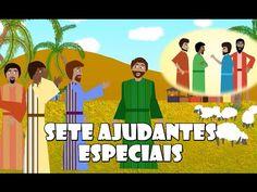 Sete ajudantes especiais – Episódio 2 | NT Kids
