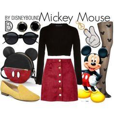 Mickey Maus und Minnie Maus