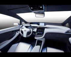 Toyota FCV -R with hydrogen -powered fuel cells will premiere at the Tokyo Motor Show in late November 2013rd This model will be offered to customers in selected markets 2015th year , according to the Japanese company.   Carmakers lately tend to n